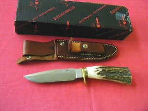 BLACK JACK Knife- Classic Hunter, Skinner, Fighter