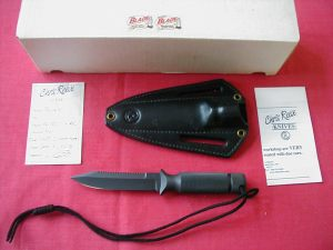 CHRIS REEVES AVIATOR. USA SURVIVAL FIGHTER KNIFE